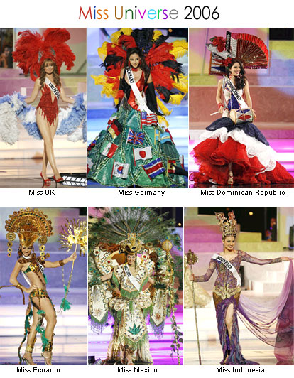 Miss Universe 2006 Contestants