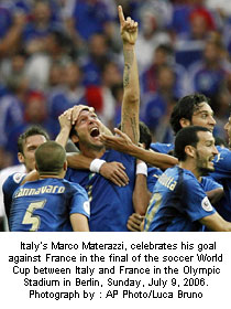 Italy savours World Cup victory