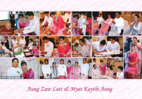Myanmar Celebrity Wedding