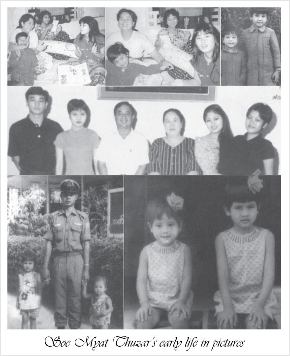 Soe Myat Thuzar's early life in pictures