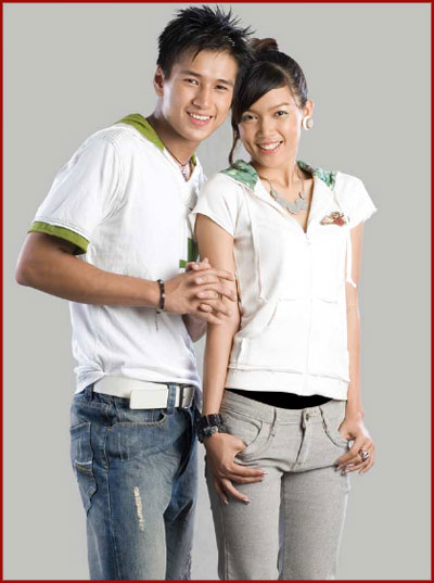 Couple of the day - Aung Ye Lin and Aye Myat Thu