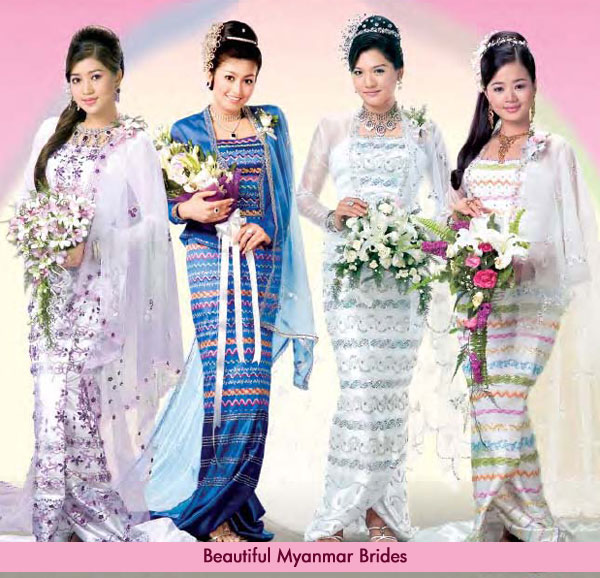 Beautiful Myanmar Brides