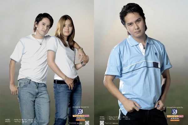 Jeans fashion with Paing Zay Ye Htun and Melody