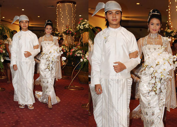 Myanmar Celebrity Wedding: E Toe