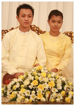 Myanmar Celebrity Wedding - Yadanar + Nyan Myo Aung