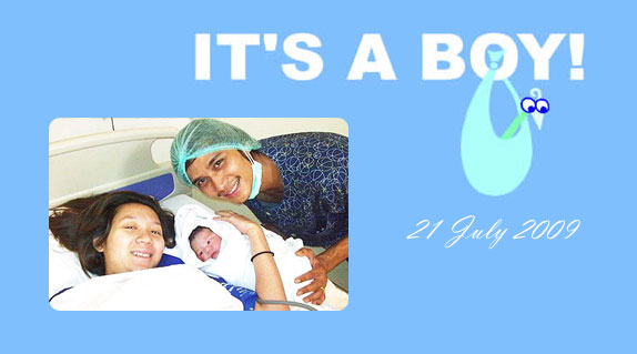 It's a boy for R Zarni and One