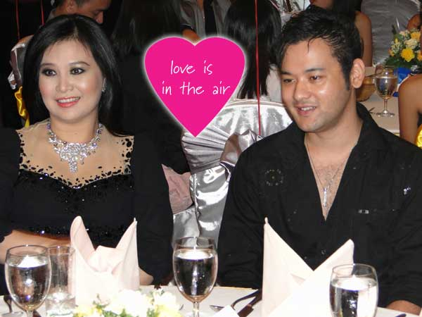 Htet Htet Moe Oo with her partner