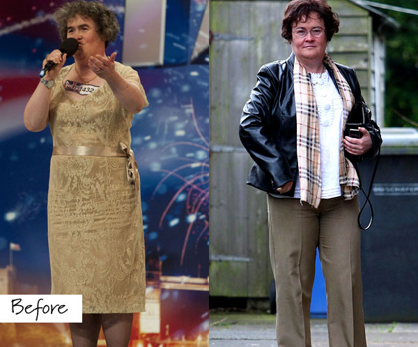 Susan Boyle's Makeover - All Things Myanmar Burmese