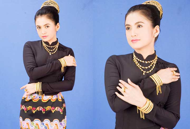 Myanmar Traditional Costume