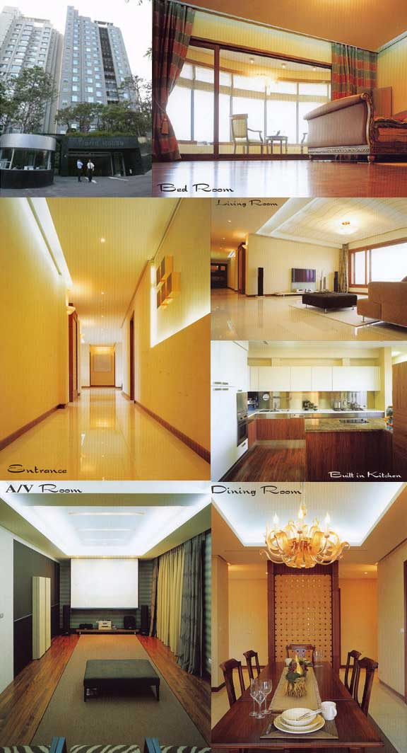 Korean Actress Song Hye-kyo's apartment