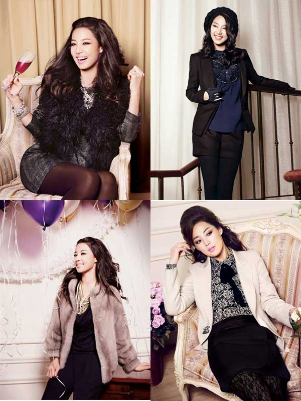 Fall & Winter Fashion with Han Ji Hye