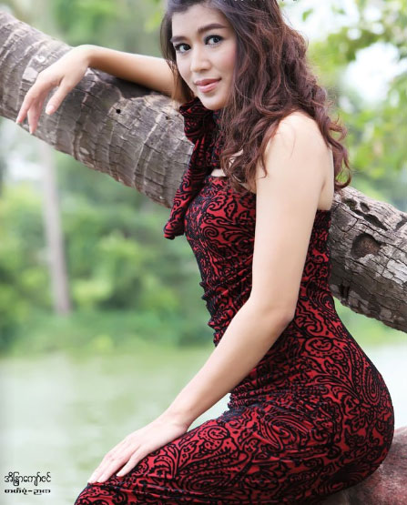 myanmar actress hot photo. Myanmar Actress Eaindra Kyaw
