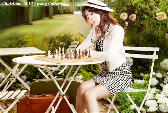 Son Ye Jin for Chatelaine 2010 Spring Collection