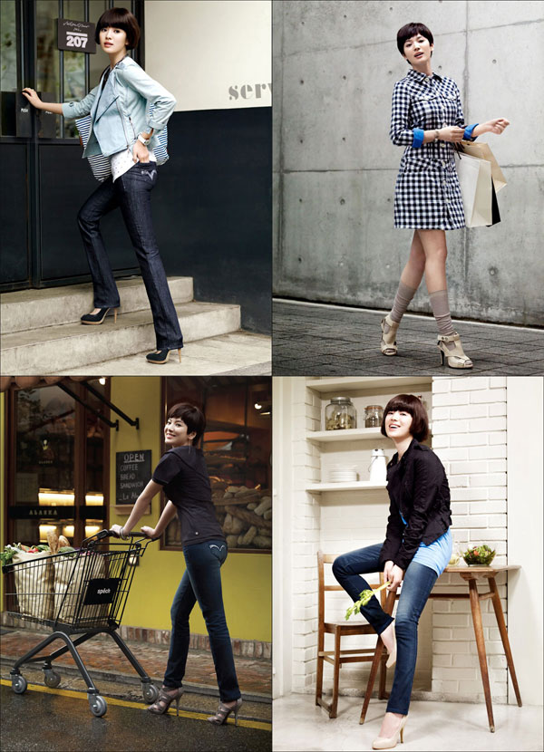 Song Hye Gyo for Levis Spring 2010