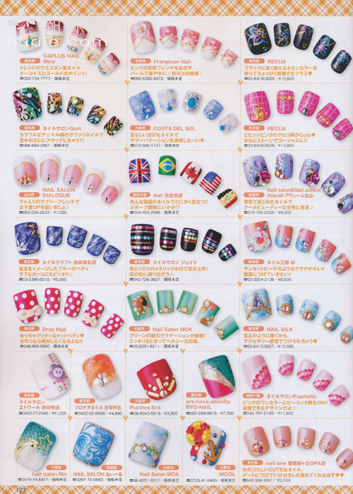 Japanese Nail Designs Pictures#%