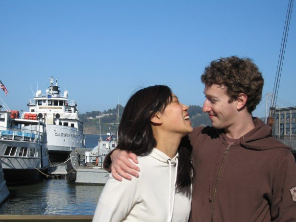 Priscilla Chan is a lucky woman because her boyfriend Mark Zuckerberg is one ...