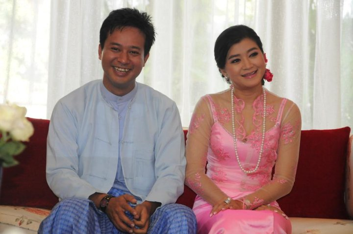 Pyay Ti Oo And Eaindra Kyaw Zin Wedding Ceremony 1 All Things Myanmar Burmese