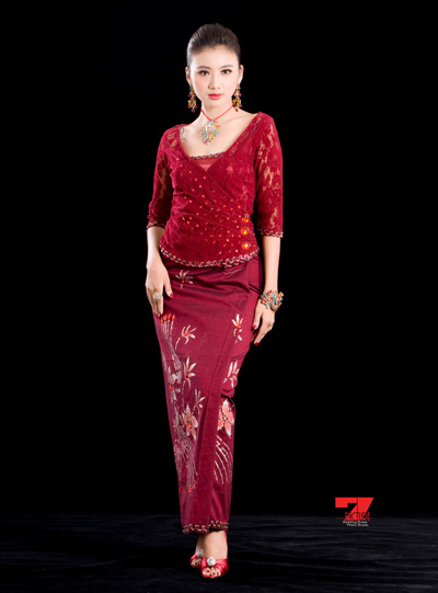 Read Myanmar Batik & Longyi Fashion – 2 on shwedarling.com Myanmar ...