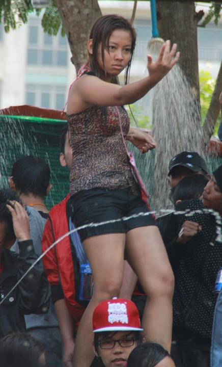 Hottest Photos From Myanmar Thingyan 2012 All Things Myanmar Burmese