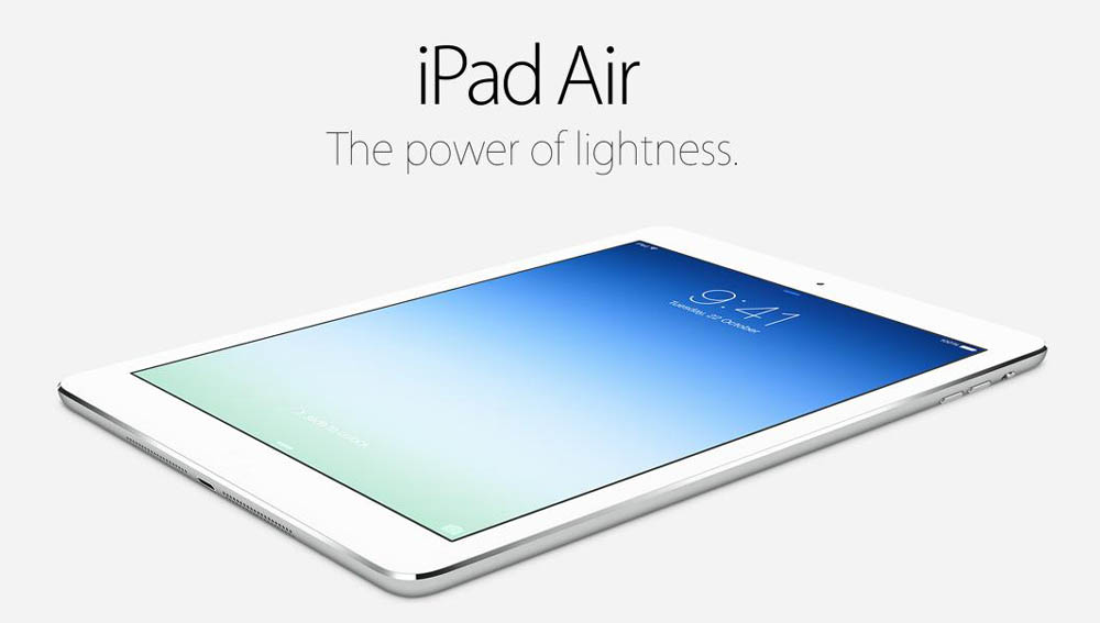 ipad air display