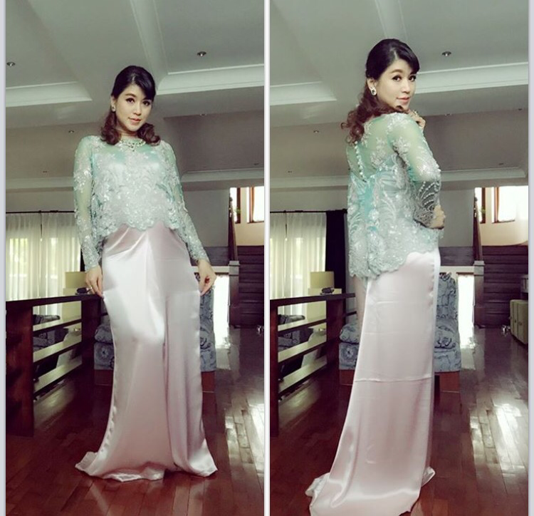 Eaindra Kyaw Zin S Pregnant Lady Maternity Fashion All Things Myanmar Burmese